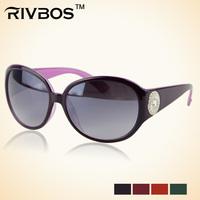 Rivbos sun glasses anti-uv personalized women's glasses wt0018