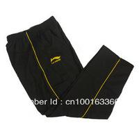 Free shipping LINING / Li Ning Badminton trousers badminton clothing autumn and winter pants / sweatpants male / female models