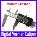 Free shipping High quality 300mm 12inch Electronic Calipers, Digital VERNIER Calipers Measure tool with LCD,MOQ=1