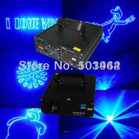 Hot sale dj laser lights 1000mw 450nm blue animation stage disco party laser show system