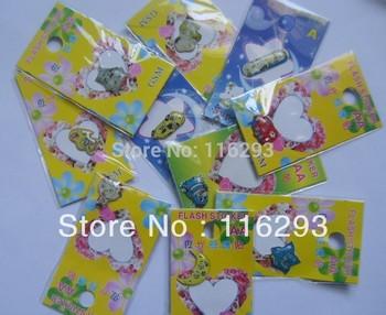 Mobile phone lightning flash sensor flash stickers mobile phone stickers style 10pcs
