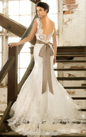 Discount Opulent Mermaid Sweetheart Lace Sash Bridal Gown Romantic