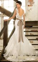 Discount Opulent Mermaid Sweetheart Lace Sash Bridal Gown Romantic