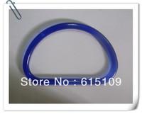 "FREE SHIPPING 5.5""*3.5"" plastic D shaped bag handle for shopping handbag or paper bag"