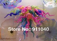 LR118 - Free Shipping 100% Handmade Hot Pink Chandelier