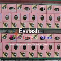 FreeShipping Navina Pink Box 12 Strip 0.10 8/10/12/14mm 32x C Curl Pro False Eyelashes Eyelash Extension High quality Engrafting