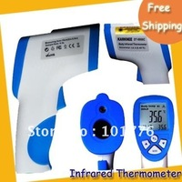 """Free shipping Forehead Thermometer ---1.7"""" LCD Digital Infrared Forehead Non-Touching Thermometer with Laser Sight MOQ=1PCS"""