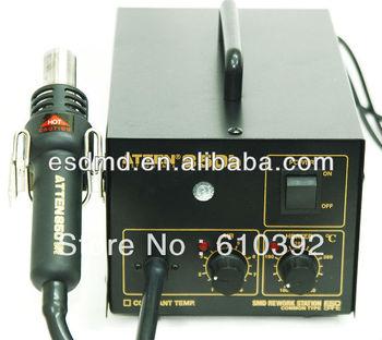 ATTEN AT850b 220V SMD digital Desoldering rework Station /Hot Air Gun / welding station