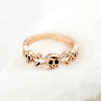 Factory Price! High Quality!fashion jewellry women rings, ITALINA Skull Ring