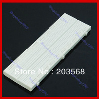 Free Shipping Breadboard 830 Point Position Solderless PCB Bread Board MB-102 Test Prototype