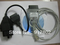 2012 for BMW INPA k+can, K+DCAN USB Interface Ediabas for BMW diagnotic Tool with BMW 20pin