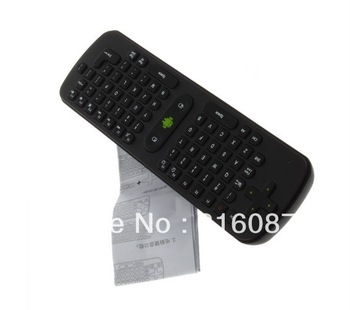 Free Shipping by Post 1pc/Lot 2.4G Mini wireless keyboard fly air mouse RC11 for Android TV BOX Dongle for mini PC for TV Player