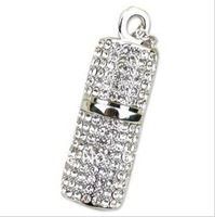 Full Capacity 4GB/8GB/16GB/32GB Crystal  Pillars USB 2.0 Memory Stick Flash Drive