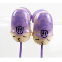 3.5mm inear artillery  headphones headset earphone interesting cartoon cute  for MP3 MP4