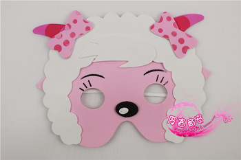 Cartoon series girl goat  lovely masquerade cheap masks,Wholesale 10 pieces/lot.Free shipping