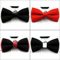 Discount  wholesale  bow ties PP bag packing  fashion bow ties wholesale  solid colr cheapest bow ties wholelsale  20pcs/lot