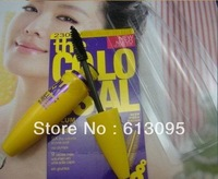 15pcs/lot Free Shipping Mascara Volume Express Colo SSAL Mascara, with Collagen, black, Mega Brush 9.2 ml