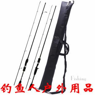 Folding 107cm fishing rod bag fishing rod canvas portable quality senior canvas umbrella bag lure bag