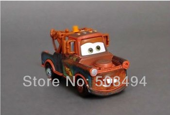Free Shipping Pixar Cars 2 alloy Length 13*5.5*6.5cm change bad Mater cars diecast figure /plastic truck/action toy figure