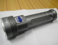Free shipping Wholesale  SolarStorm 9500 Lumens 7x CREE XM-L T6 LED Flashlight Torch 50W Lamp Light 6*18650 Camp