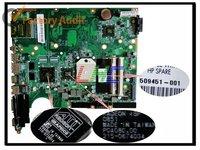 dv6 amd motherboard 509451-001 for hp pavilion dv6 dv6z entertainment notebook pc motherboard mainboard