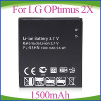 Freeshipping  FL-53HN FL53HN Replacement Cell Phone Battery For LG Optimus 2x 3D G2x p920 P925 P999 M735 Thrill 4G
