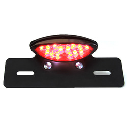 Dirt Bike ATV Motorcycle License Plate Mount Rear Running Brake Tail Light Cruiser(China (Mainland))