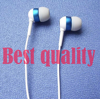 Super bass Metal Ear phone noise cancelling 3.5mm high quality best headphone Monitor earphone phone MP3 MP4 Headphone  JH-0001
