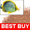Blood Worm Freeze Dried Tropical Fish Food Discus 100g
