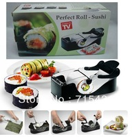 Free Shipping! Perfect Roll Sushi Maker tool tools mould molds As Seen On TV Make Sushi At Home, 5pcs/lot