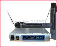 PRO NEW Wireless CORDLESS DJ Karaoke Mic Microphone system