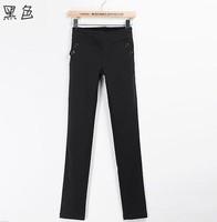 3pcs/lot High Quality Fashion Women  Slim Leggings Feet Pencil Pants Casual Lady Shinny Trousers 3 Colors 650030