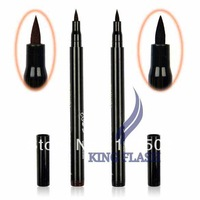 Hot 2 Colors Brown/ Black New Cosmetics Makeup Not Dizzy Waterproof Liquid Eyeliner Pencil 7798