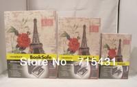 The simulation English Dictionary&novel safe Creative piggy bank mini book safe box,Secret book,3 sizes,Free shipping