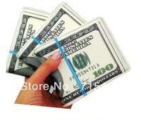 Free shipping 100 DOLLAR BILL MONEY WALLET MAN WALLET