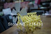 Free shipping 10pcs/lot Theo Jansen Mini Strandbeest Model by Gakken Otona no Kagaku Vol. 30 k