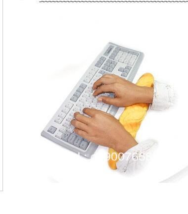 Free shipping novelty bread wrist pad,hand pillow,,wrist pillow ,massage computer pillow dropship(China (Mainland))