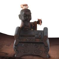 Cao Cao Q-tip box Ornaments, swab case Decoration gaine, Three Kingdoms Handicraft Works, Artware Business Gifts Presents