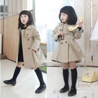 5pcs/lot Free shipping,2013New Girl's Wind Coat Children Overcoat Kids Outwear Windbreaker Coat Baby Clothing wholesale