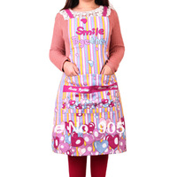 Free shipping Wholesale/retail High Quality Cooking Kitchen Apron set Waterproof Apron Home Health Clean Kitchen helper