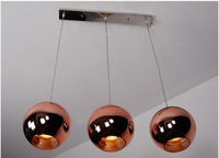 Diameter 25 CM Tom Dixon Copper Shade ceiling light Pendant Lamp Pendant Lights x3piece + free shipping