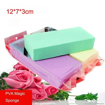 PVA Magic Sponge For Car&Kitchen&Furniture&Glass Multi-function Cleaning Sponge 120*70*30mm