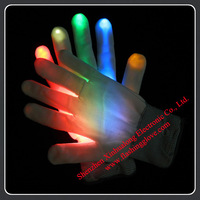2013 HOT selling Led Rainbow Gloves with Factory Price