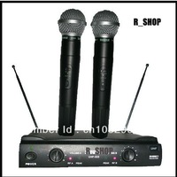PRO Dual WIRELESS CORDLESS MIC MICROPHONE SYSTEM