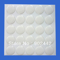 Free Shipping: Wholesale 1000 pcs/lot  25 mm 3D Clear Round Epoxy Sticker For DIY Jewelry Crafts