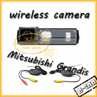 2.4g wireless for Mitsubishi Grandis wateroof  Car Rear View Camera,Car Rear Vision Camera with RCA Video  free shipping