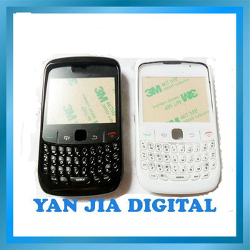 Original cell phone housing for blackberry curve 8520 with free shipping