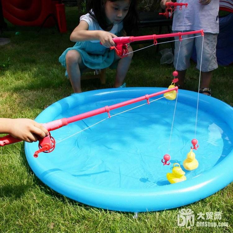 free shipping 1pcs Duck game set child fishing toy animal ae02521 0.54(China (Mainland))