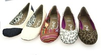 wholesale lady flat heel cloth shoes fashion casual canvas shoes for spring FREE SHIPPING by DHL