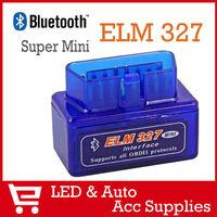 Free Shipping Super Mini ELM327 V1.5 Bluetooth Scanner OBDII OBD2 Car Diagnostic Tools Auto Scan Data OBD2-008